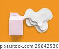 Paper Craft Arts Milk Carton Spill Out 29842530