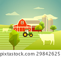 animal, farm, vector 29842625