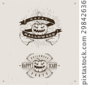 happy halloween logos 29842636