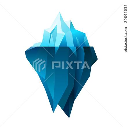 iceberg on white 29842652