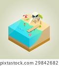 on the beach 29842682