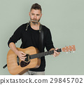 guitar, harmonica, musician 29845702
