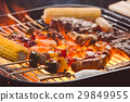 Barbeque on the grill 29849955