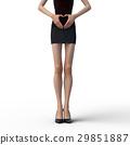 皮膚 模型 模特 29851887