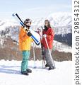 滑雪夫妇肖像 29854312