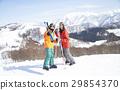 滑雪夫婦肖像 29854370