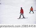 스키 활주로 커플 29854458