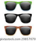 Sunglasses icon vector illustration 29857070