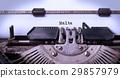 Old typewriter - Malta 29857979