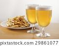 啤酒 淡啤酒 炸薯條 29861077
