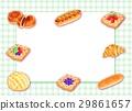 baker, sweet roll, bean-jam bun 29861657