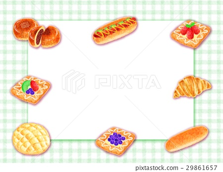 Various bread frames 29861657