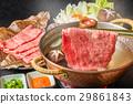 涮涮锅 和牛 神户牛肉 29861843