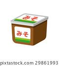 味噌 豆饼 调味品 29861993