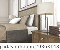 bed, lamp, interior 29863148