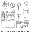 Furniture - Set of design elements 29864286