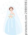 婚禮 新娘 結婚禮服 29864981