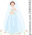 婚禮 新娘 結婚禮服 29864982