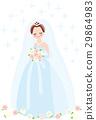 婚禮 新娘 結婚禮服 29864983