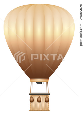 Hot Air Balloon Old Fashioned 29865026
