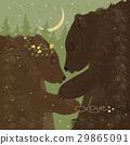 Couple of hugging bears  29865091
