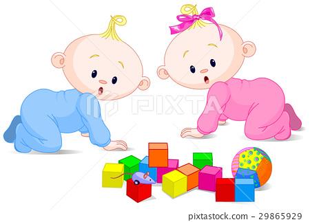 Playing babies 29865929