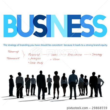 Business Startup Plan Target Concept 29868559
