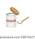 설탕 【재료 시리즈] 29874427