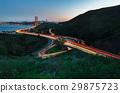 Golden Gate Bridge during sunset 29875723