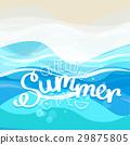 sea, vacation, summer 29875805