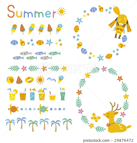 summer, decoration, ornate 29876472