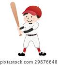 少年棒球(紅色制服) 29876648