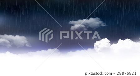 多雨雨季天空背景 29876921