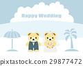 婚禮 矢量 熊 29877472