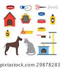 동물, 개집, 개 29878283