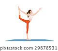 woman doing yoga 29878531