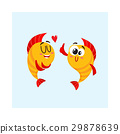 fish, character, vector 29878639