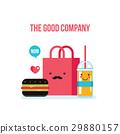 vector, food, delicious 29880157