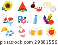 summer, icon, icons 29881559