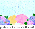 雨季 梅雨 下雨 29882746