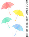 umbrella, brolly, colorful 29882999