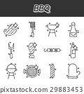 barbecue, grill, set 29883453