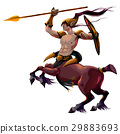 Centaur with spear and armor 29883693