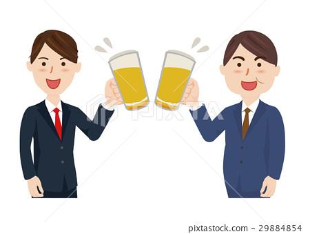 เบียร์,ชนแก้ว,พบปะเพื่อดื่ม 29884854