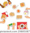 早餐 進餐 早晨 29885087