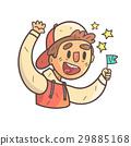 扇子 运动 男孩 29885168