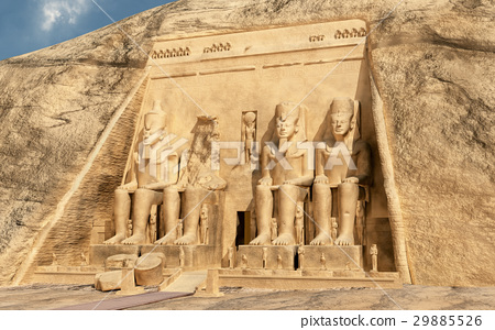 Great temple of Abu Simbel in Egypt 29885526