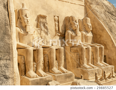 Great temple of Abu Simbel in Egypt 29885527
