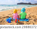 holidays, beach, twins 29886372