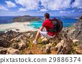 crete, backpack, balos 29886374